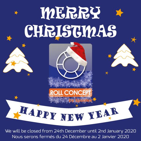 Roll Concept shutdown for Christmas Time